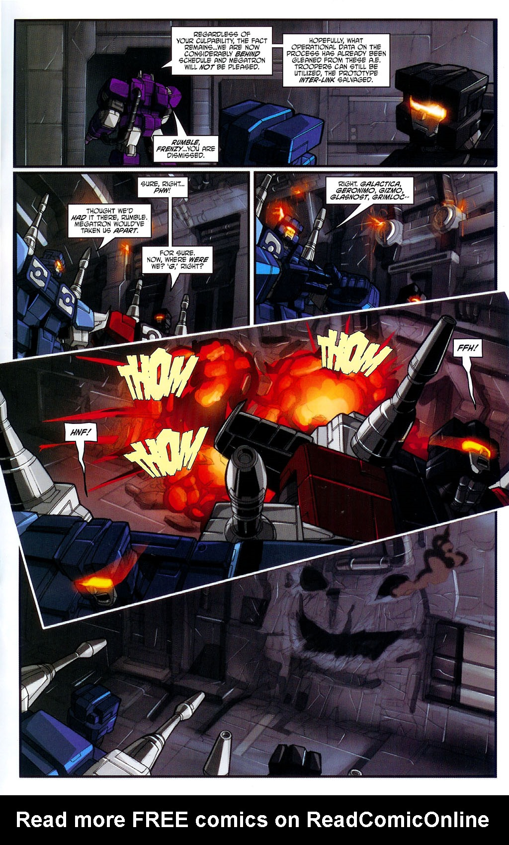 """Read online Transformers War Within: """"The Age of Wrath"""" comic -  Issue #3 - 13"""