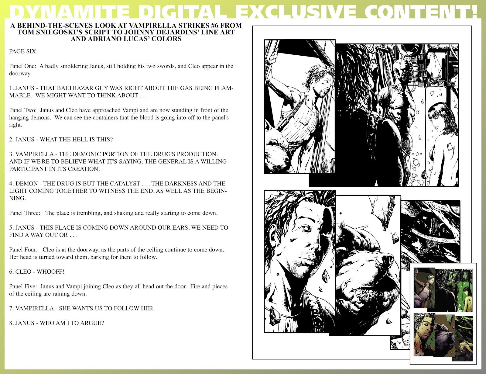 Read online Vampirella Strikes comic -  Issue #6 - 40