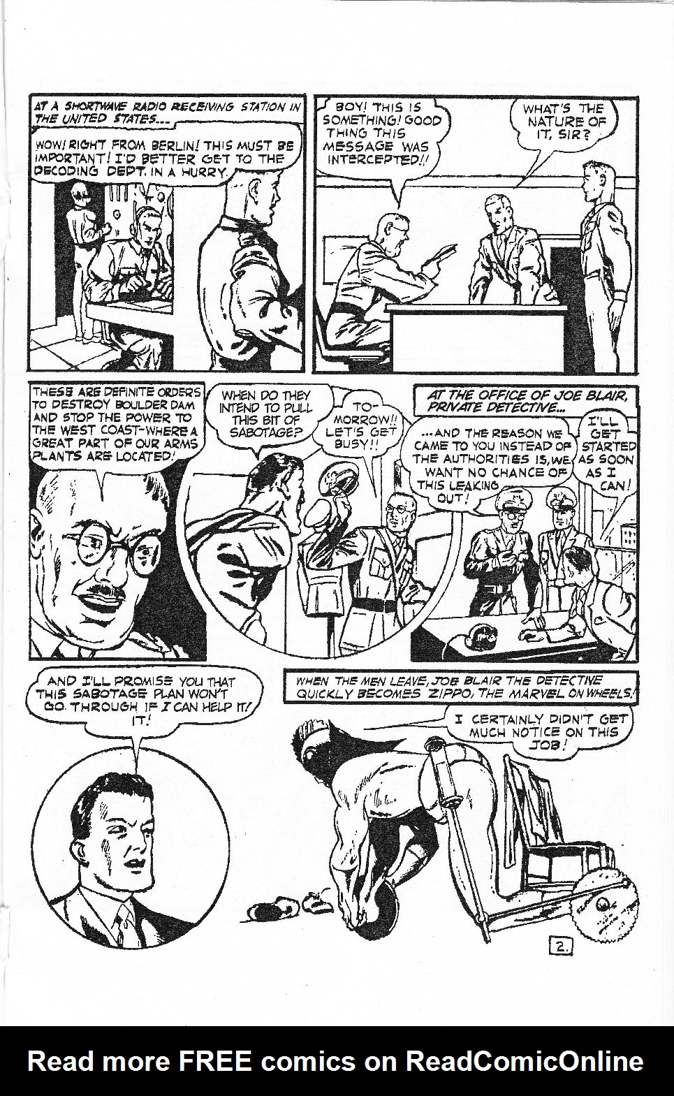 Read online Men of Mystery Comics comic -  Issue #53 - 33