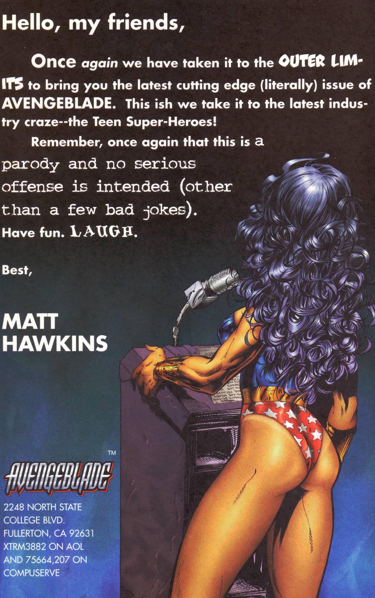 Read online Avengeblade comic -  Issue #2 - 24