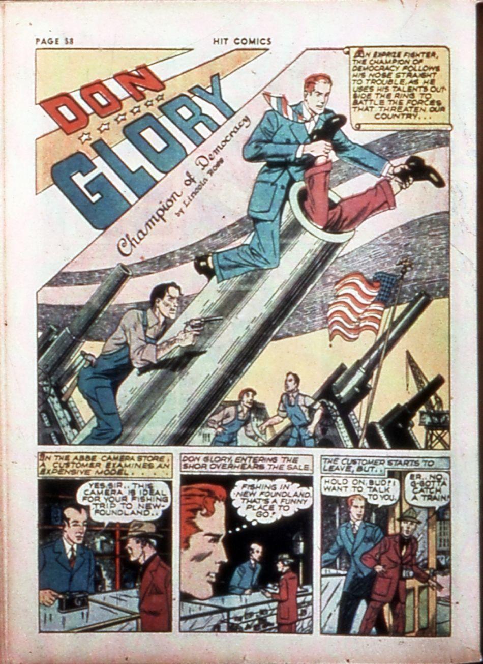 Read online Hit Comics comic -  Issue #14 - 60