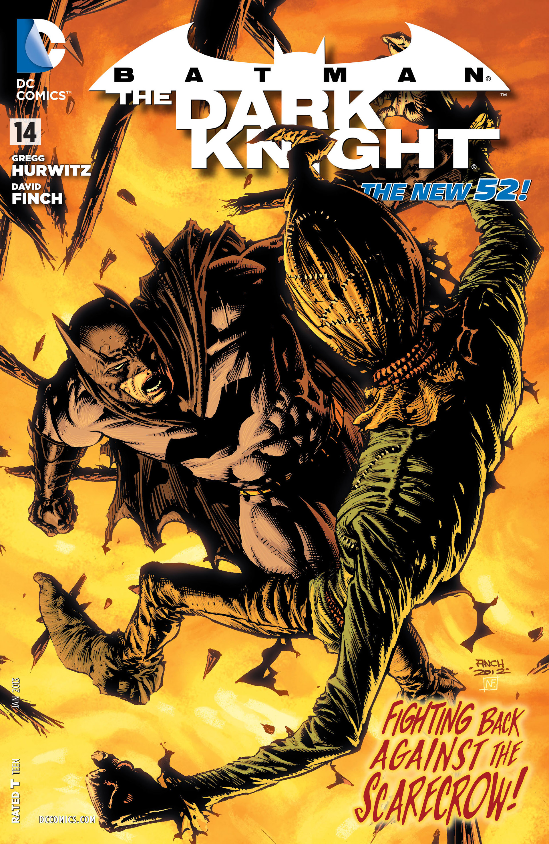 Batman: The Dark Knight [II] (2011) issue 14 - Page 1
