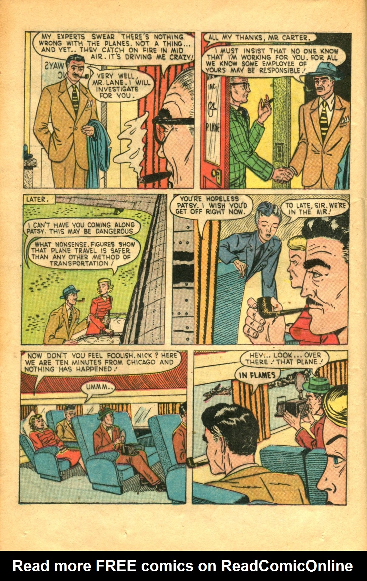 Read online Shadow Comics comic -  Issue #91 - 32