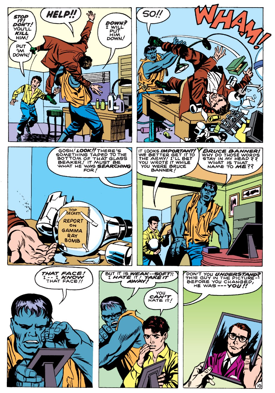 Read online Marvel Masterworks: The Incredible Hulk comic -  Issue # TPB 1 (Part 1) - 13