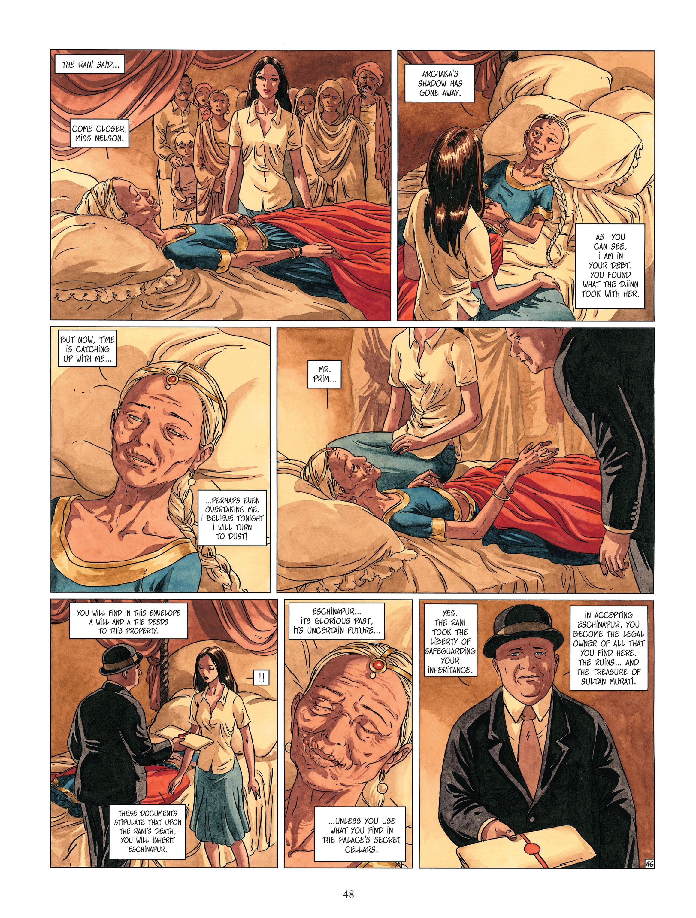 Read online Djinn comic -  Issue #13 - 49