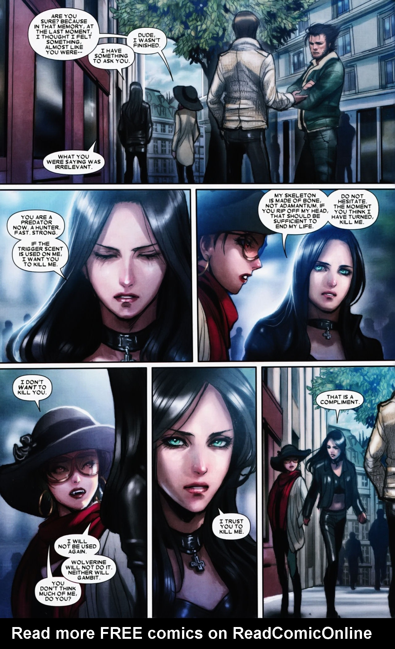 Read online X-23 (2010) comic -  Issue #11 - 13