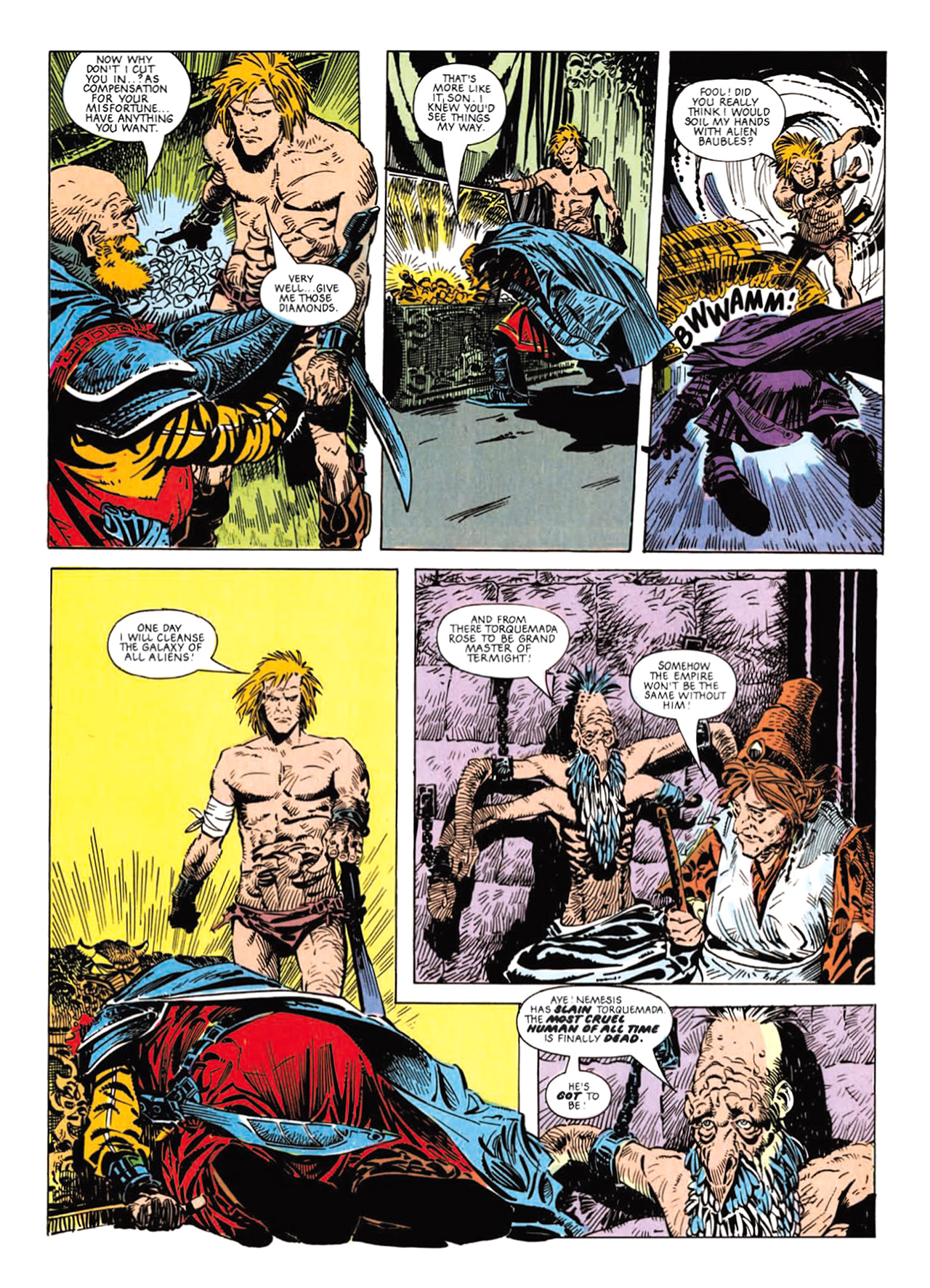 Read online Nemesis The Warlock comic -  Issue # TPB Deviant Edition - 105
