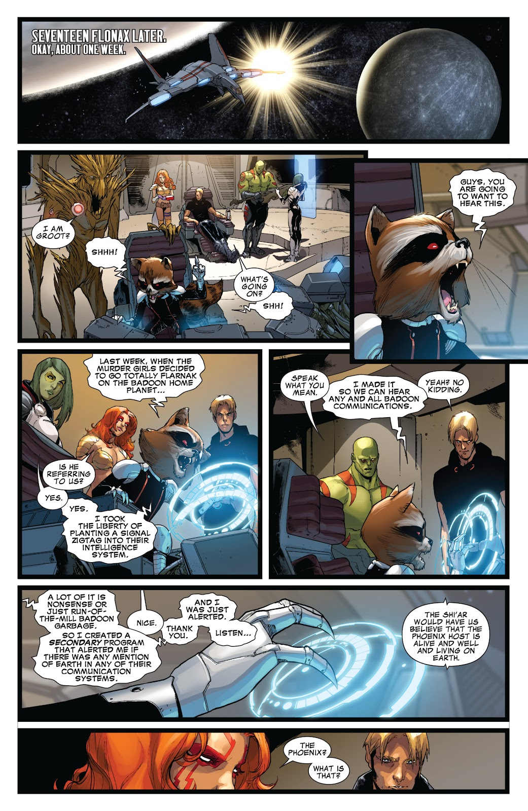 Guardians of the Galaxy/All-New X-Men: The Trial of Jean Grey issue TPB - Page 36