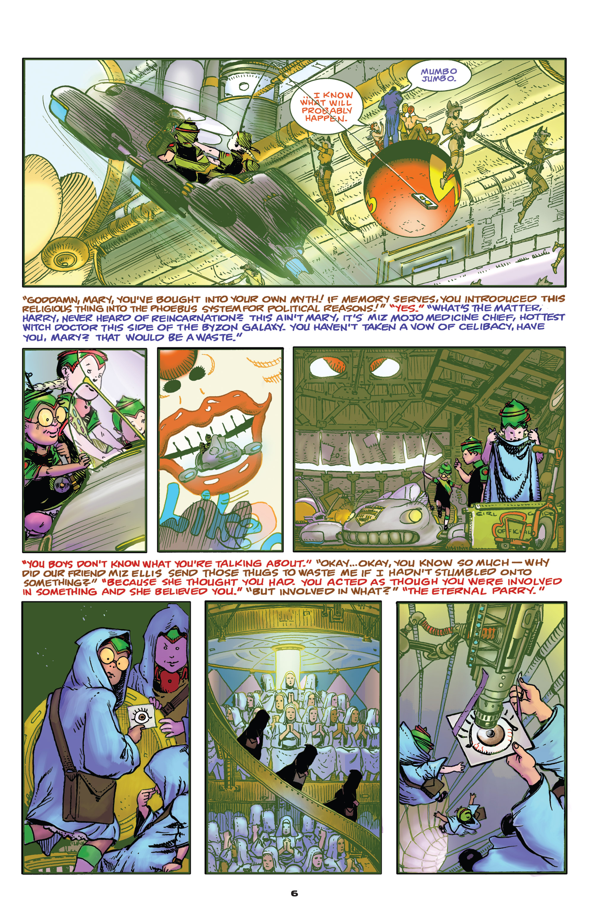 Read online Starstruck: Old Proldiers Never Die comic -  Issue #4 - 7