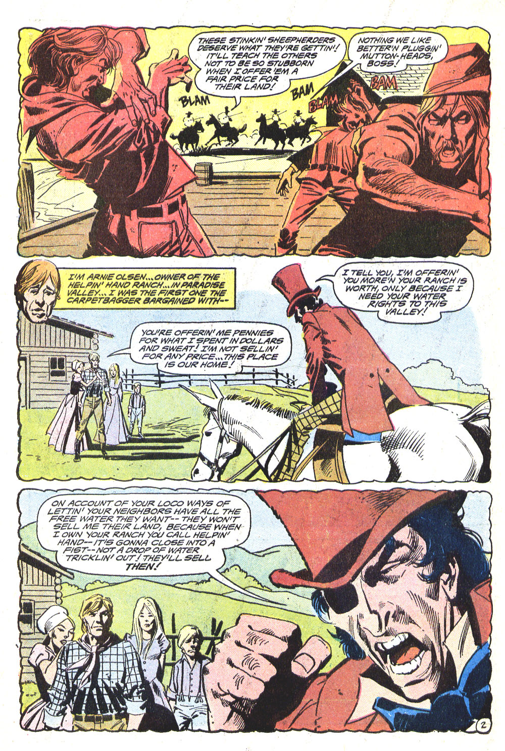 Read online All-Star Western (1970) comic -  Issue #5 - 22