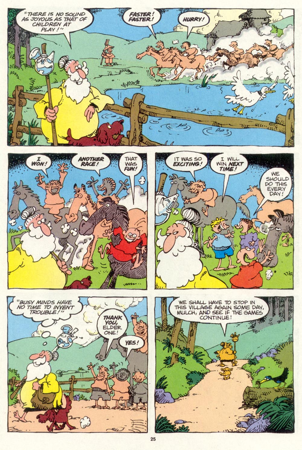 Read online Sergio Aragonés Groo the Wanderer comic -  Issue #105 - 27