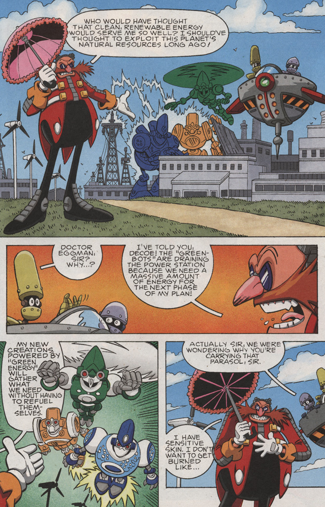 Read online Sonic X comic -  Issue #28 - 5