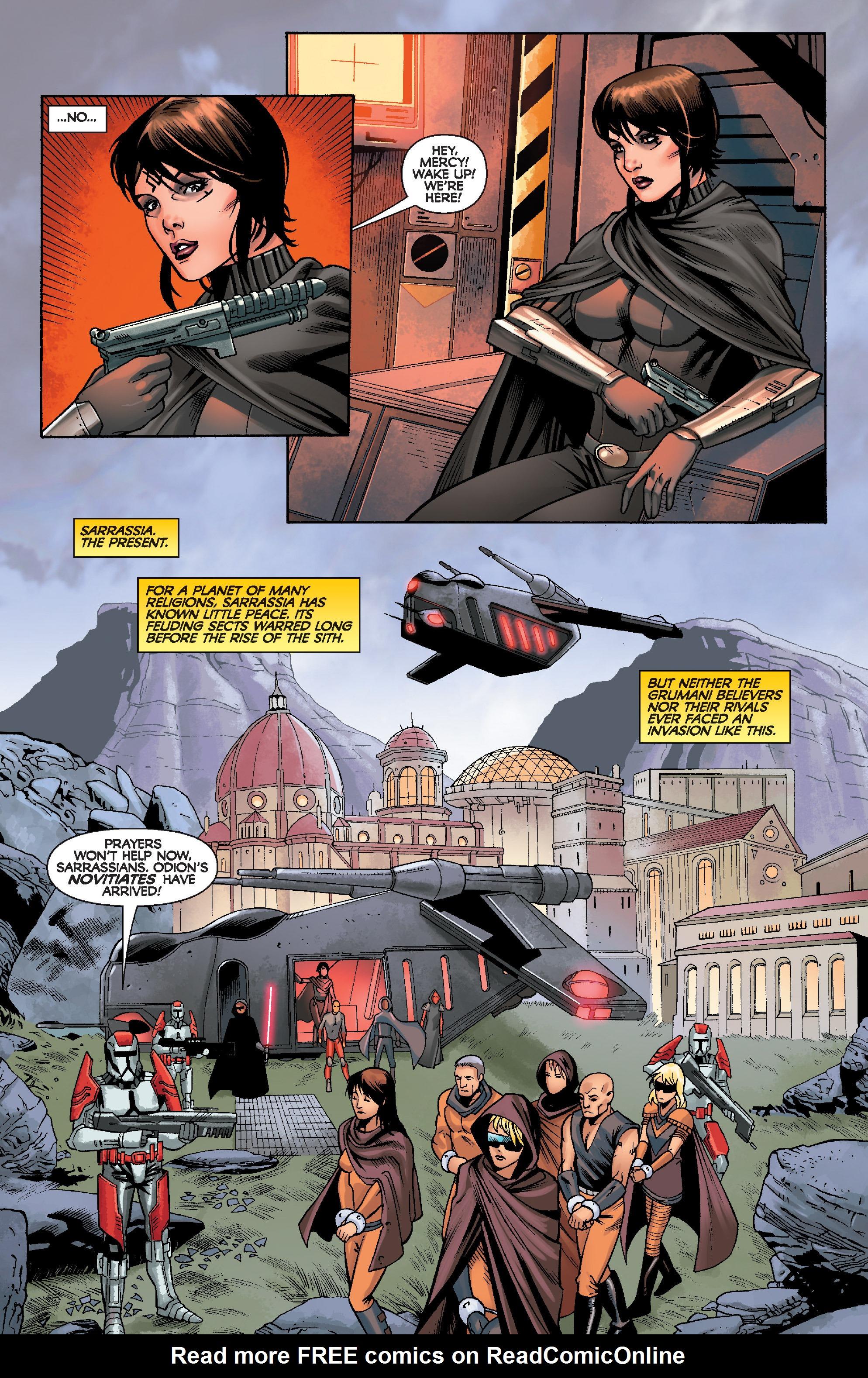 Read online Star Wars: Knight Errant - Escape comic -  Issue #2 - 6