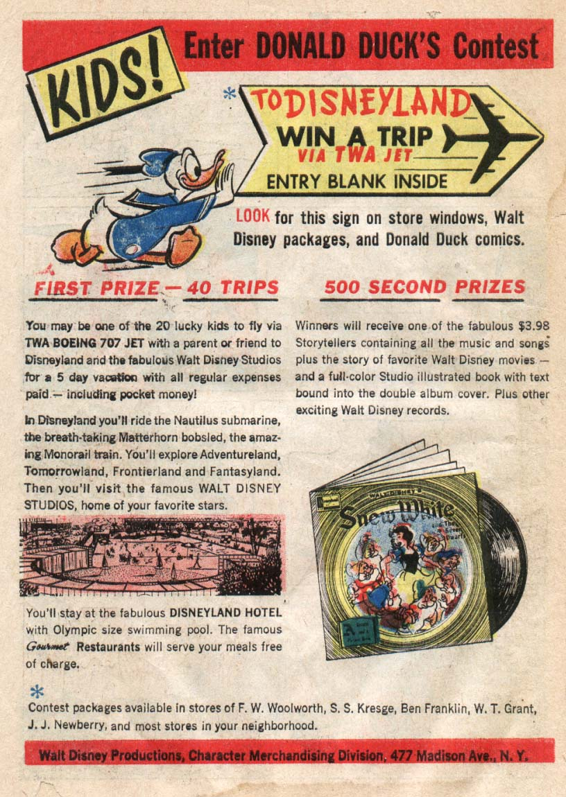 Walt Disney's Comics and Stories issue 241 - Page 34