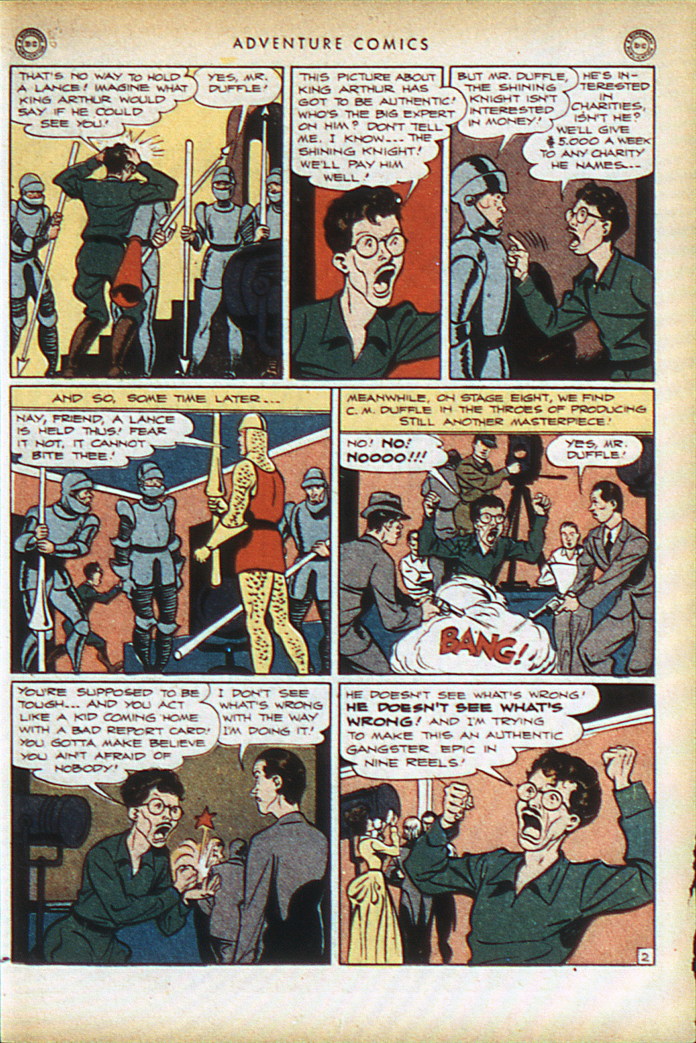 Read online Adventure Comics (1938) comic -  Issue #93 - 16