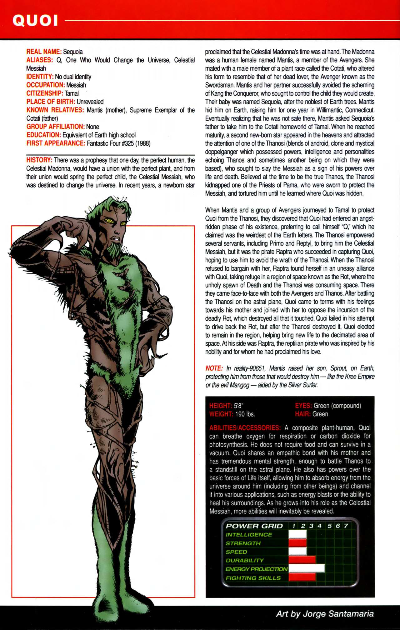 Read online All-New Official Handbook of the Marvel Universe A to Z comic -  Issue #8 - 66