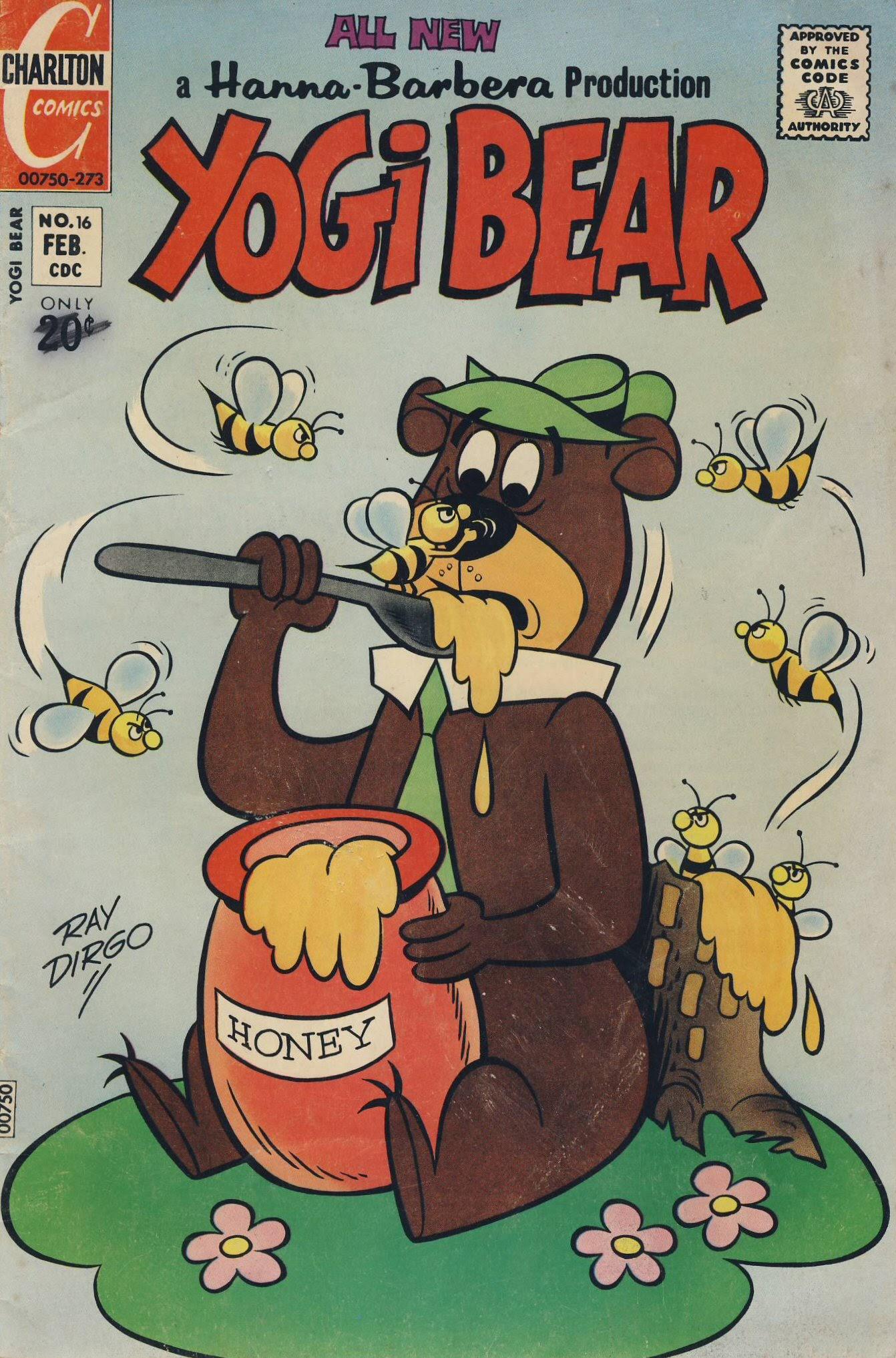 Yogi Bear (1970) 16 Page 1