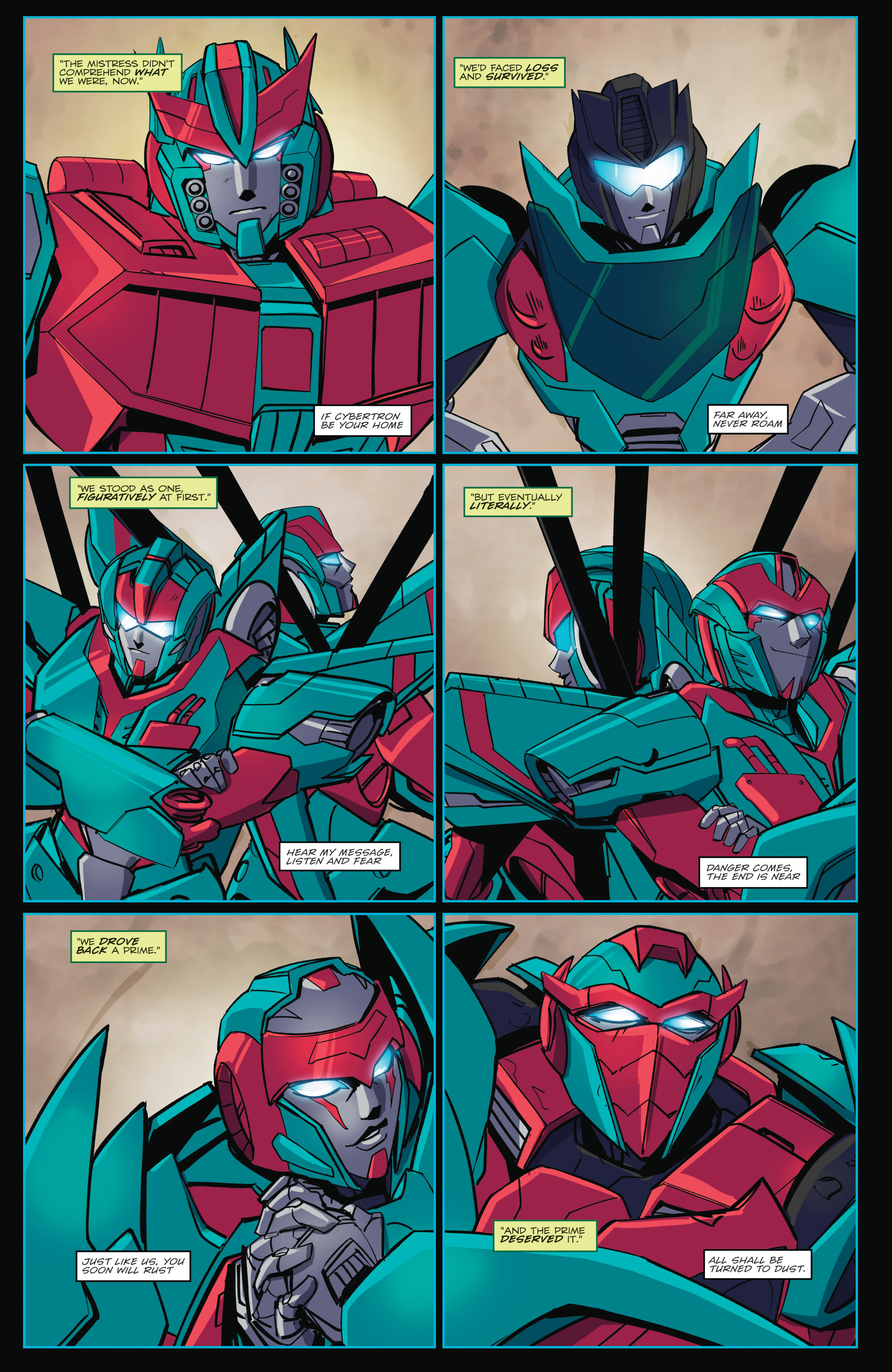 Read online Transformers Annual comic -  Issue # Full - 38
