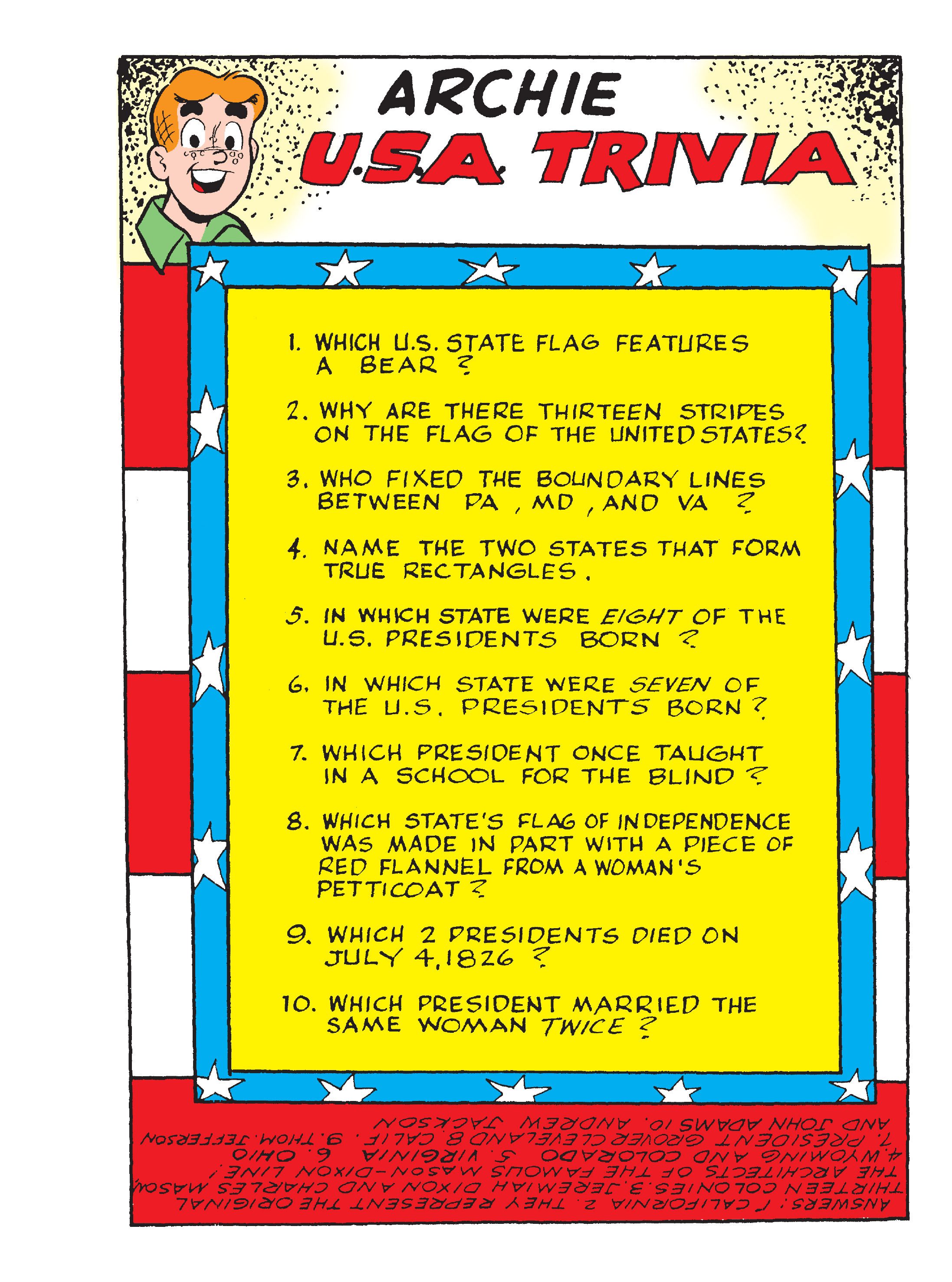 Read online Archie's Funhouse Double Digest comic -  Issue #17 - 123