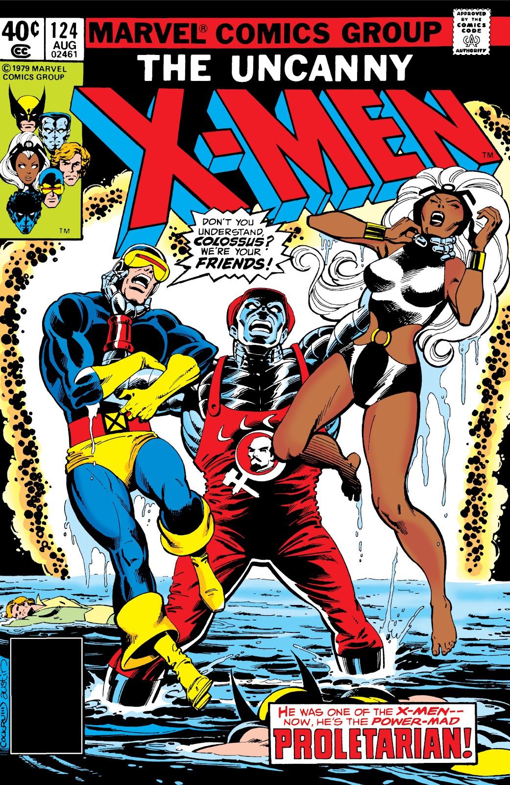 Uncanny X-Men (1963) issue 124 - Page 1