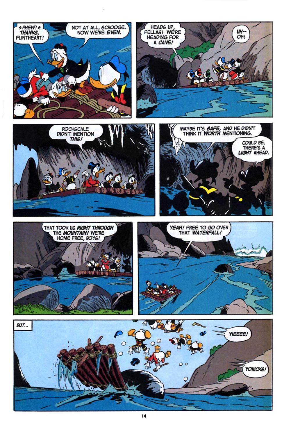 Read online Uncle Scrooge (1953) comic -  Issue #246 - 16