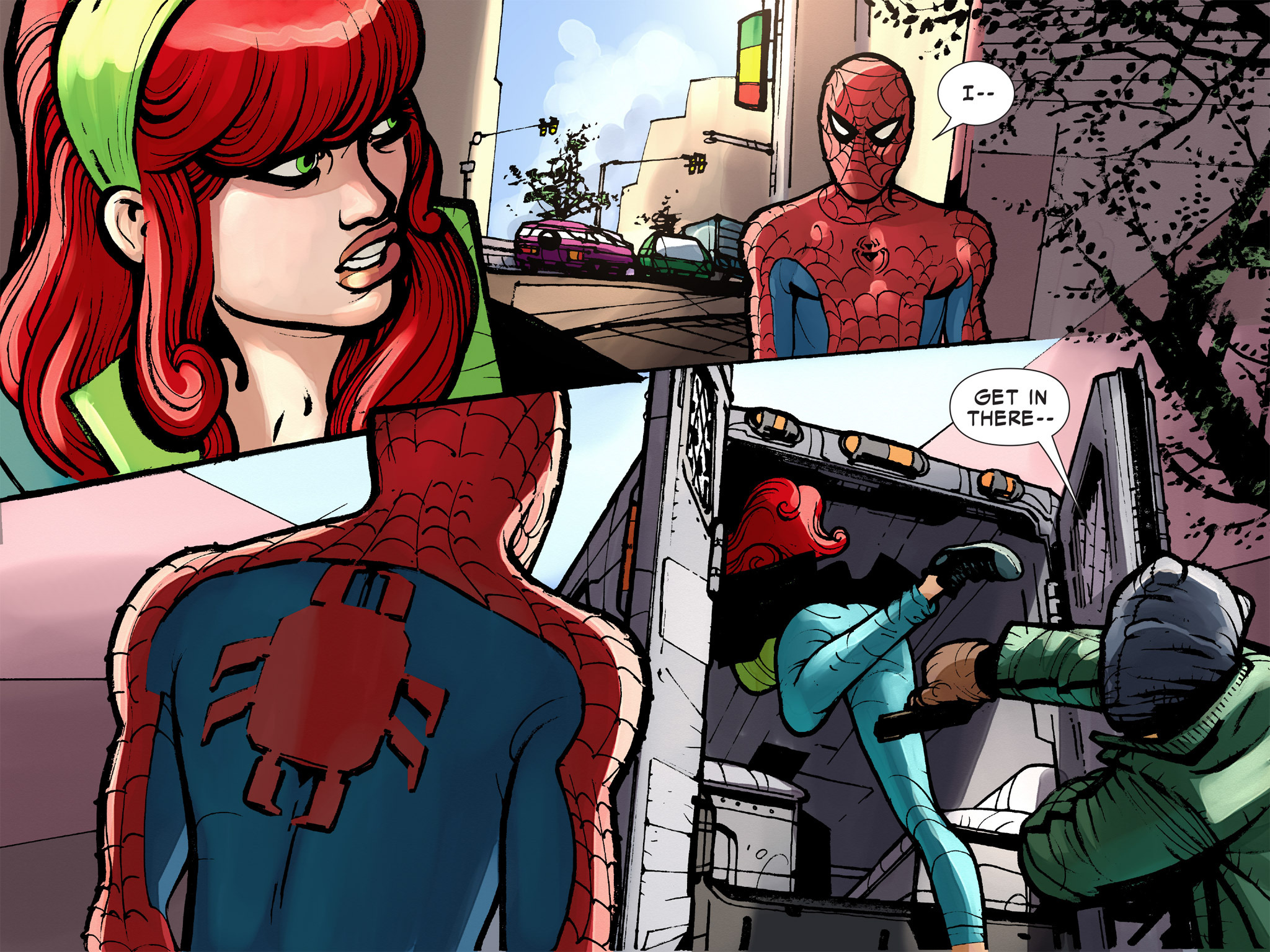 Read online Amazing Spider-Man: Who Am I? comic -  Issue # Full (Part 2) - 74