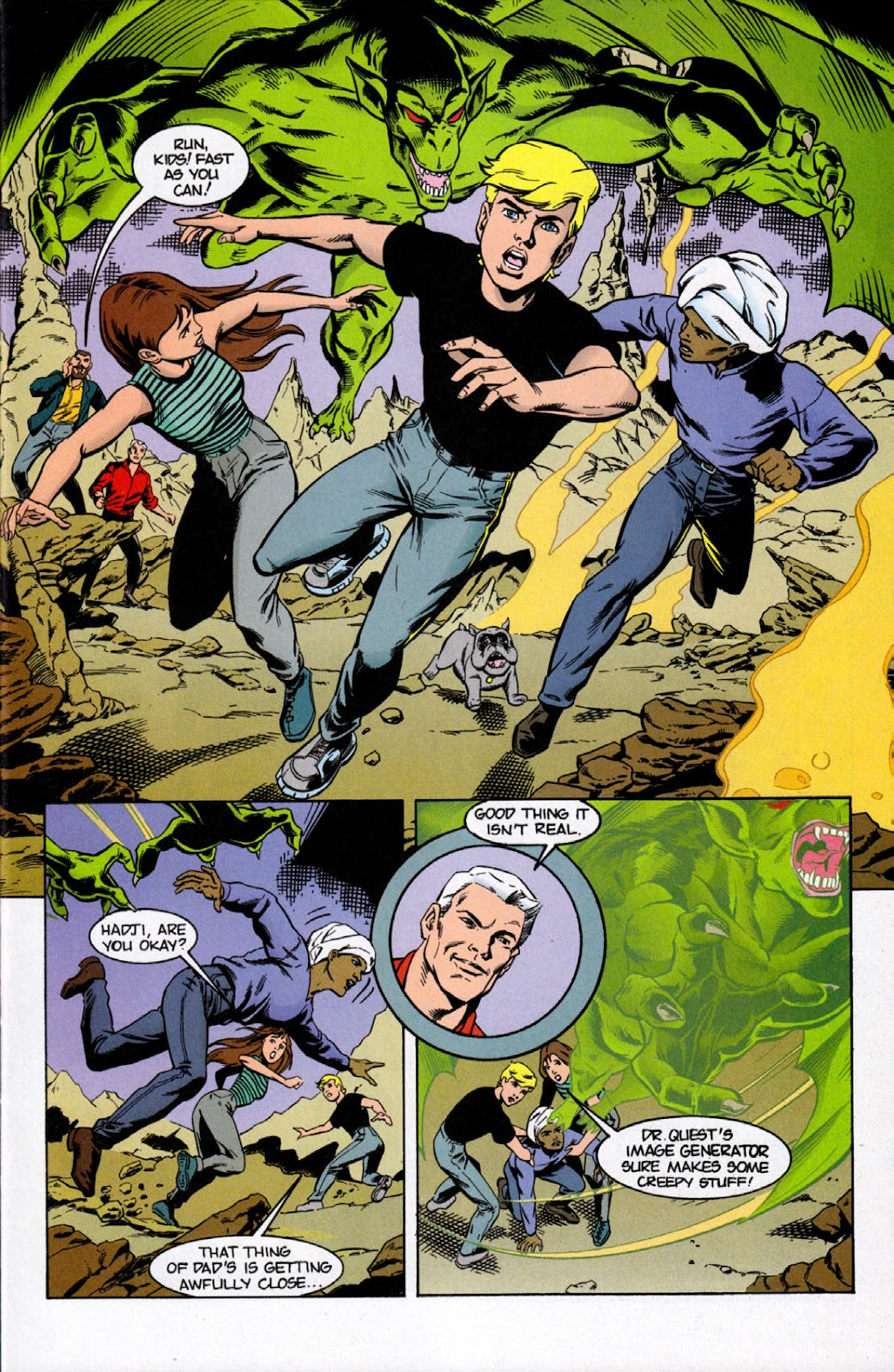 Read online The Real Adventures of Jonny Quest comic -  Issue #7 - 3