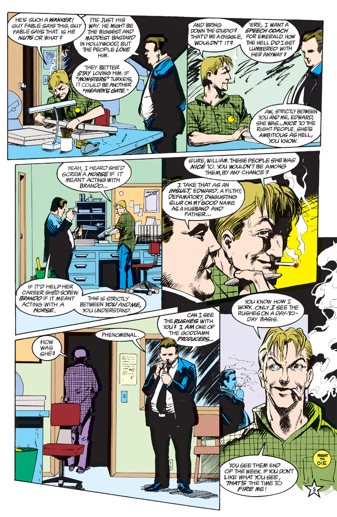 Read online Shade, the Changing Man comic -  Issue #5 - 7