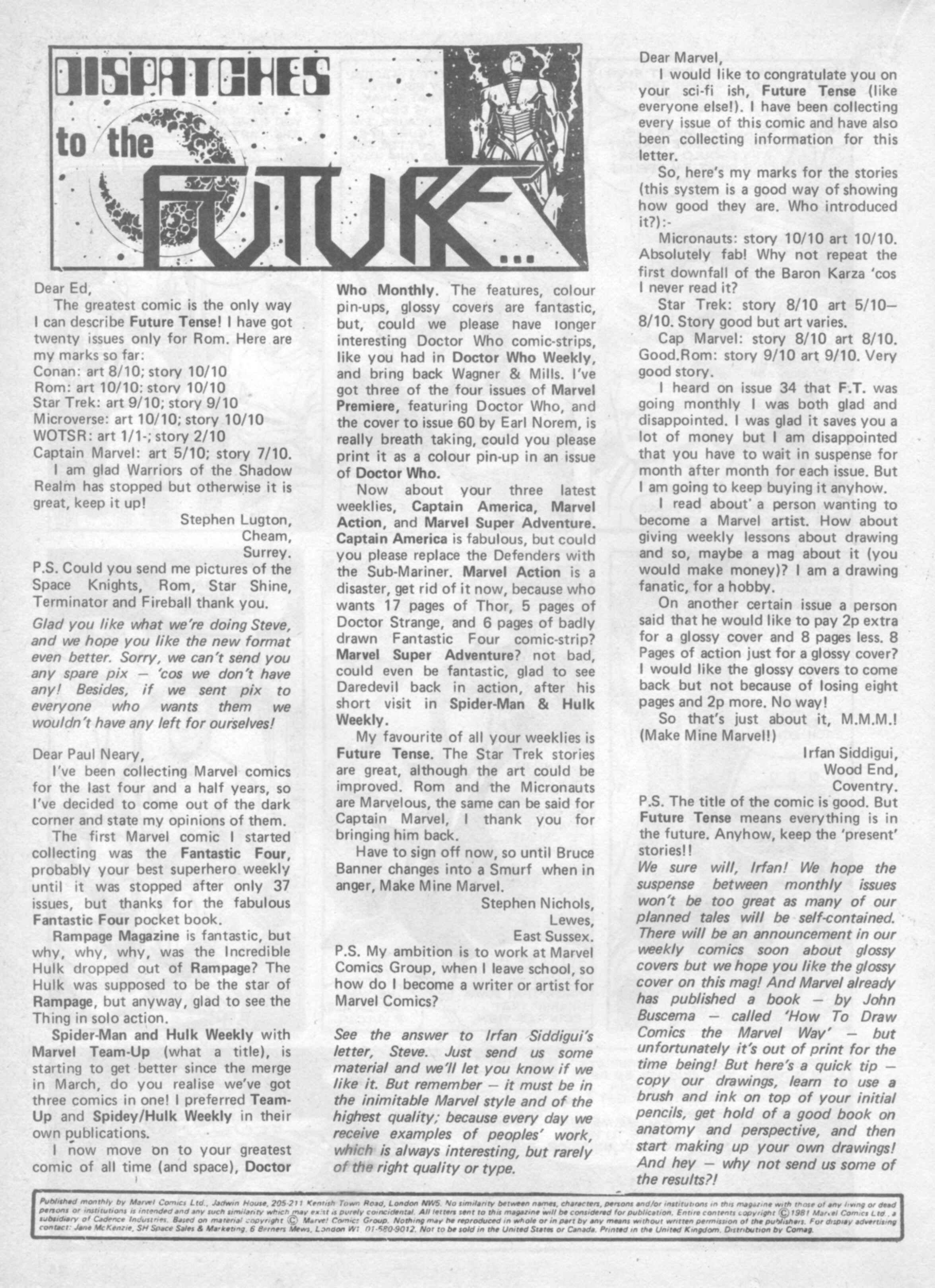 Read online Future Tense comic -  Issue #37 - 26