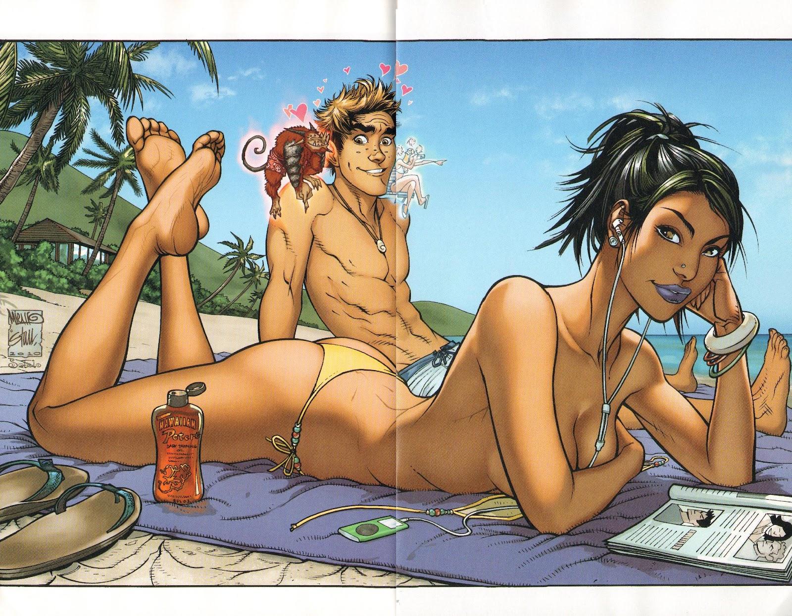 Read online Aspen Splash: Swimsuit Spectacular comic -  Issue # Issue 2010 - 9