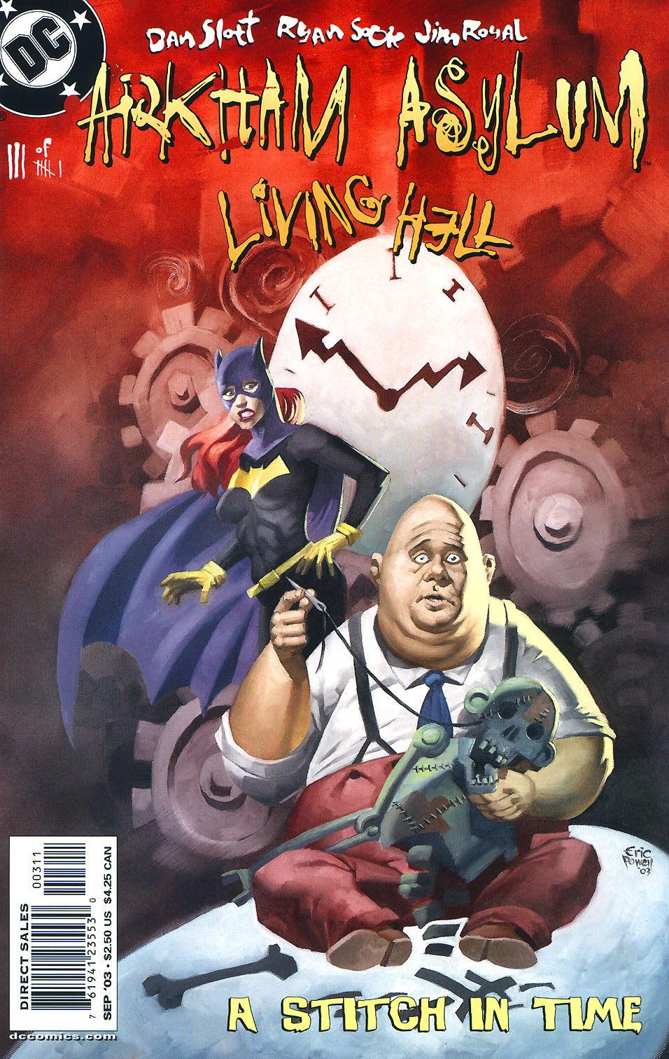 Read online Arkham Asylum: Living Hell comic -  Issue #3 - 2