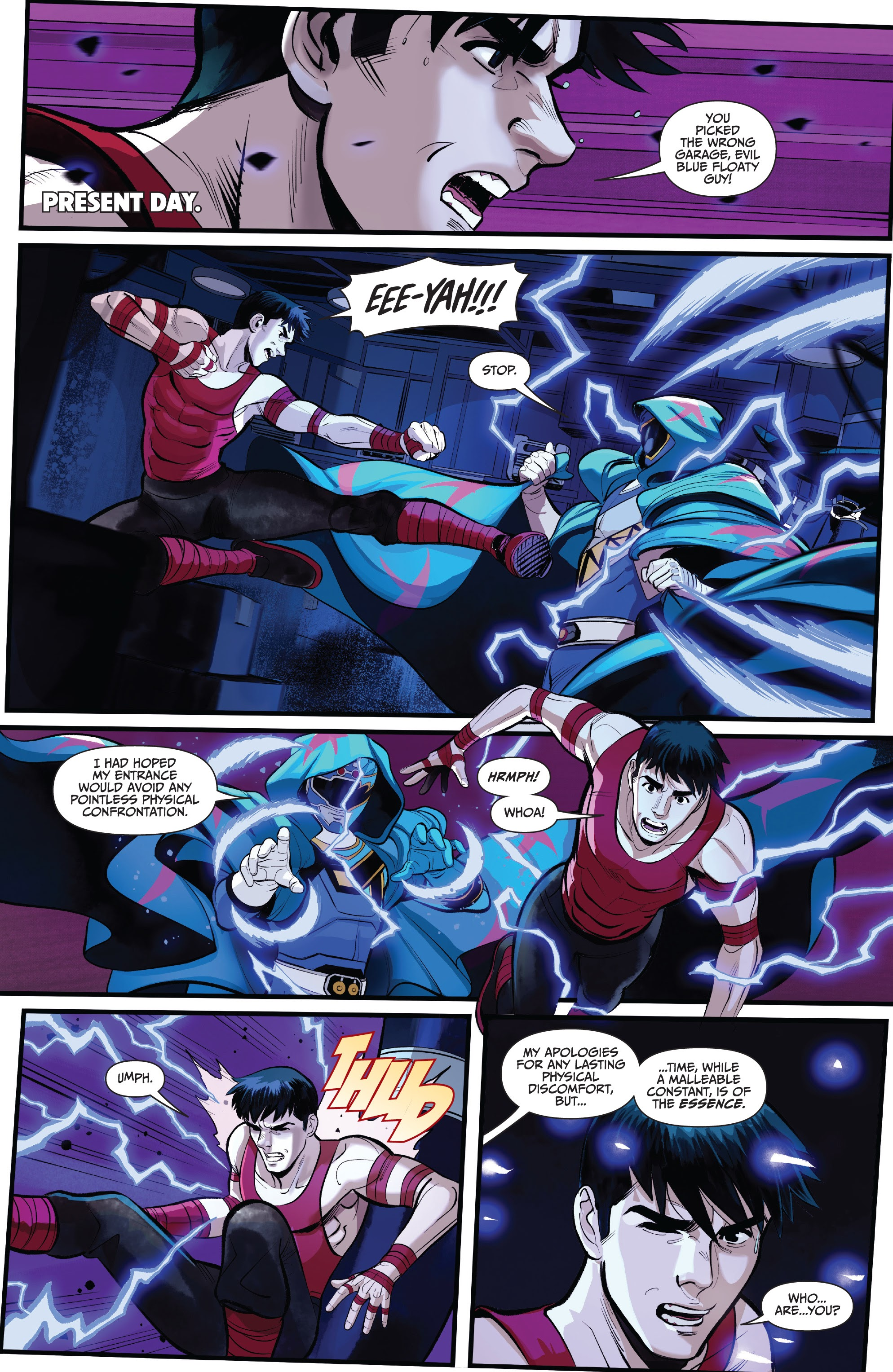 Read online Saban's Go Go Power Rangers comic -  Issue #22 - 6