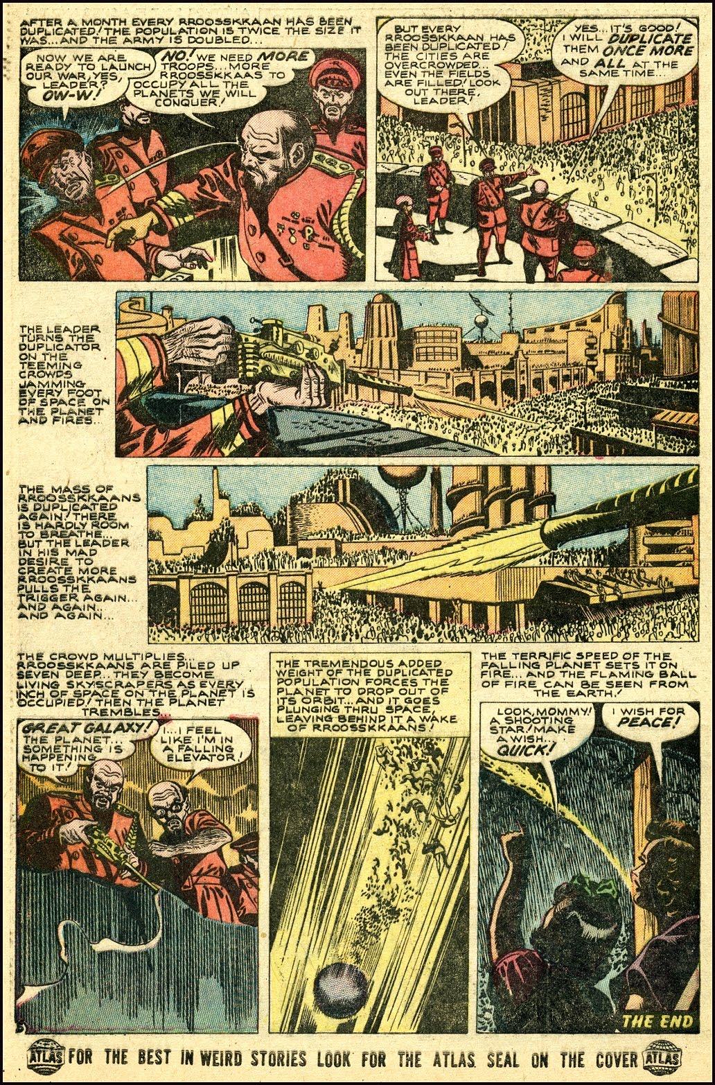 Read online Adventures into Weird Worlds comic -  Issue #25 - 26