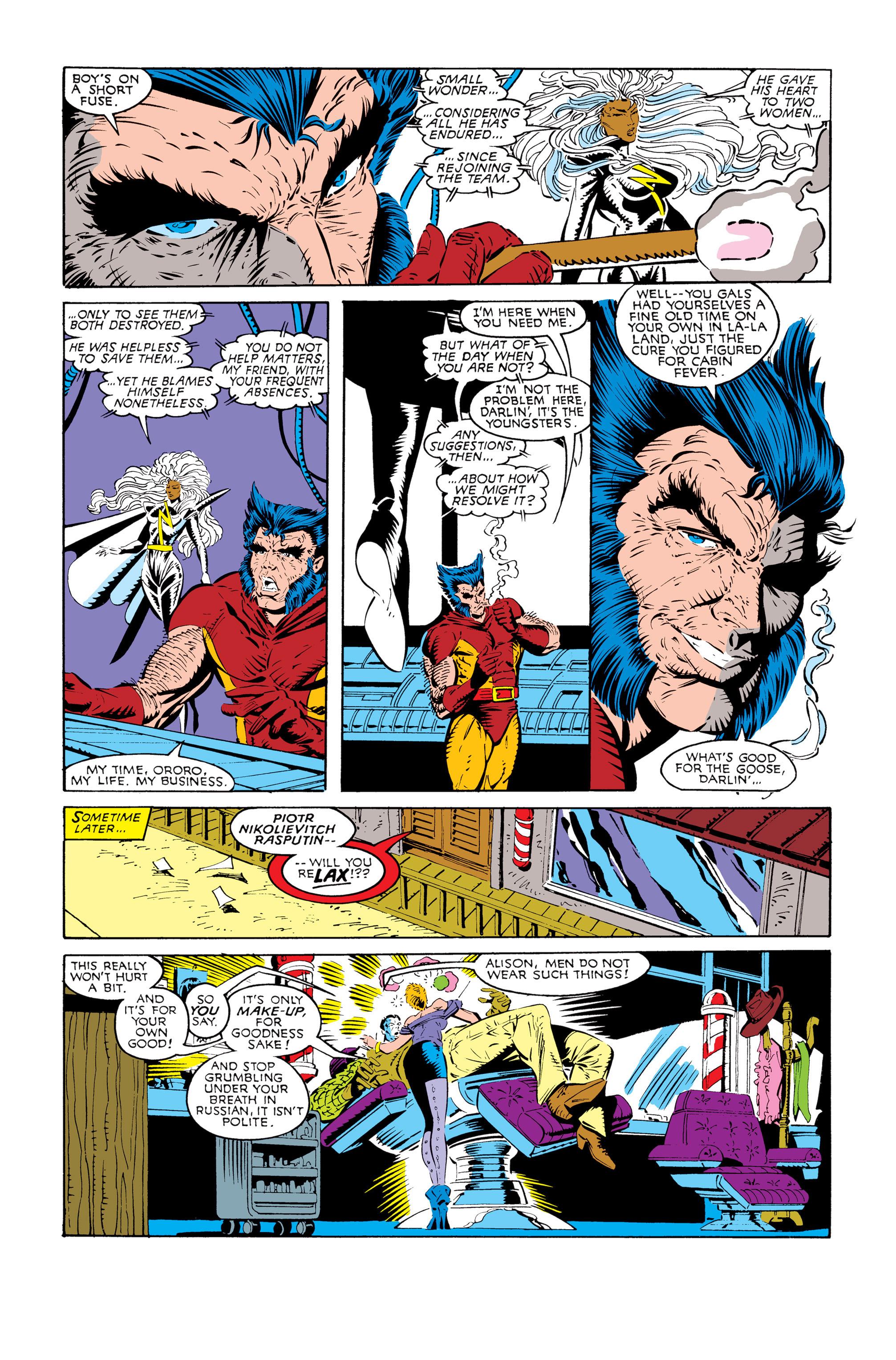 Read online Uncanny X-Men (1963) comic -  Issue #245 - 6