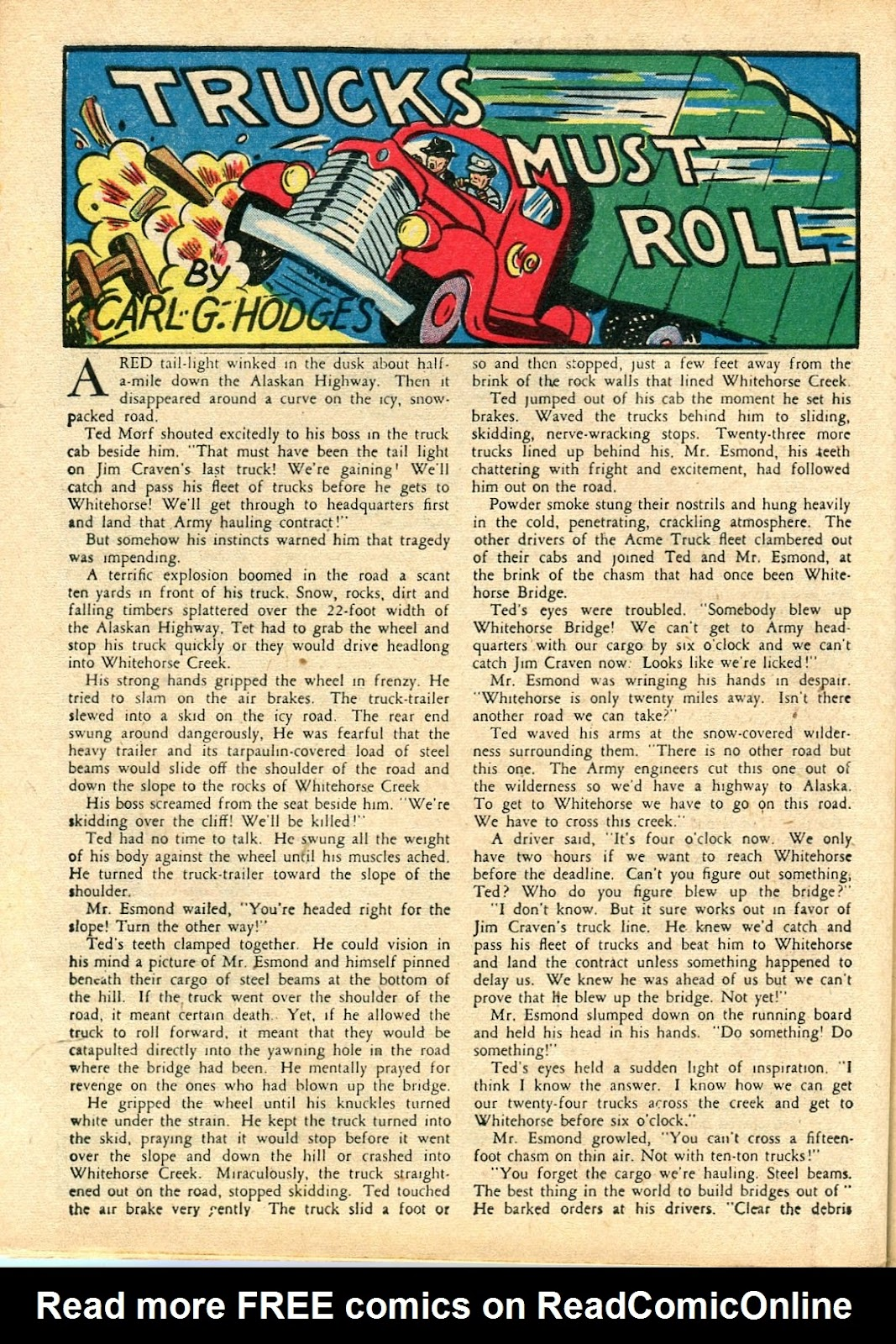 Read online Famous Funnies comic -  Issue #112 - 52