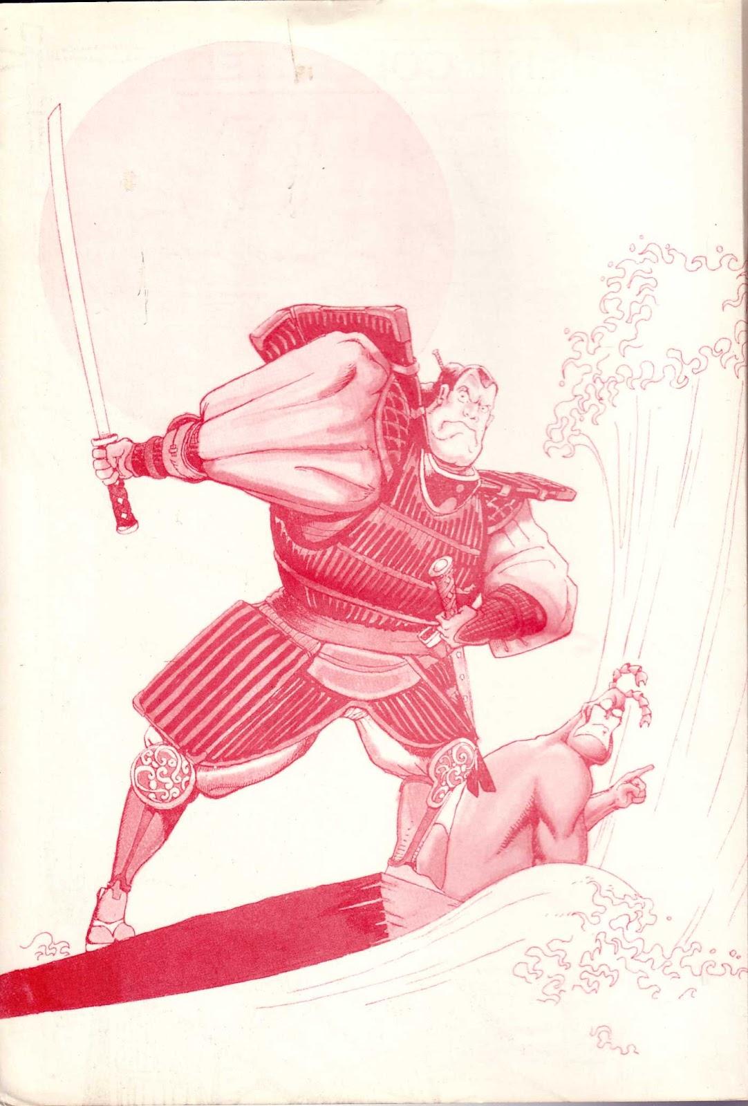 Read online Paul the Samurai (1991) comic -  Issue # TPB - 2