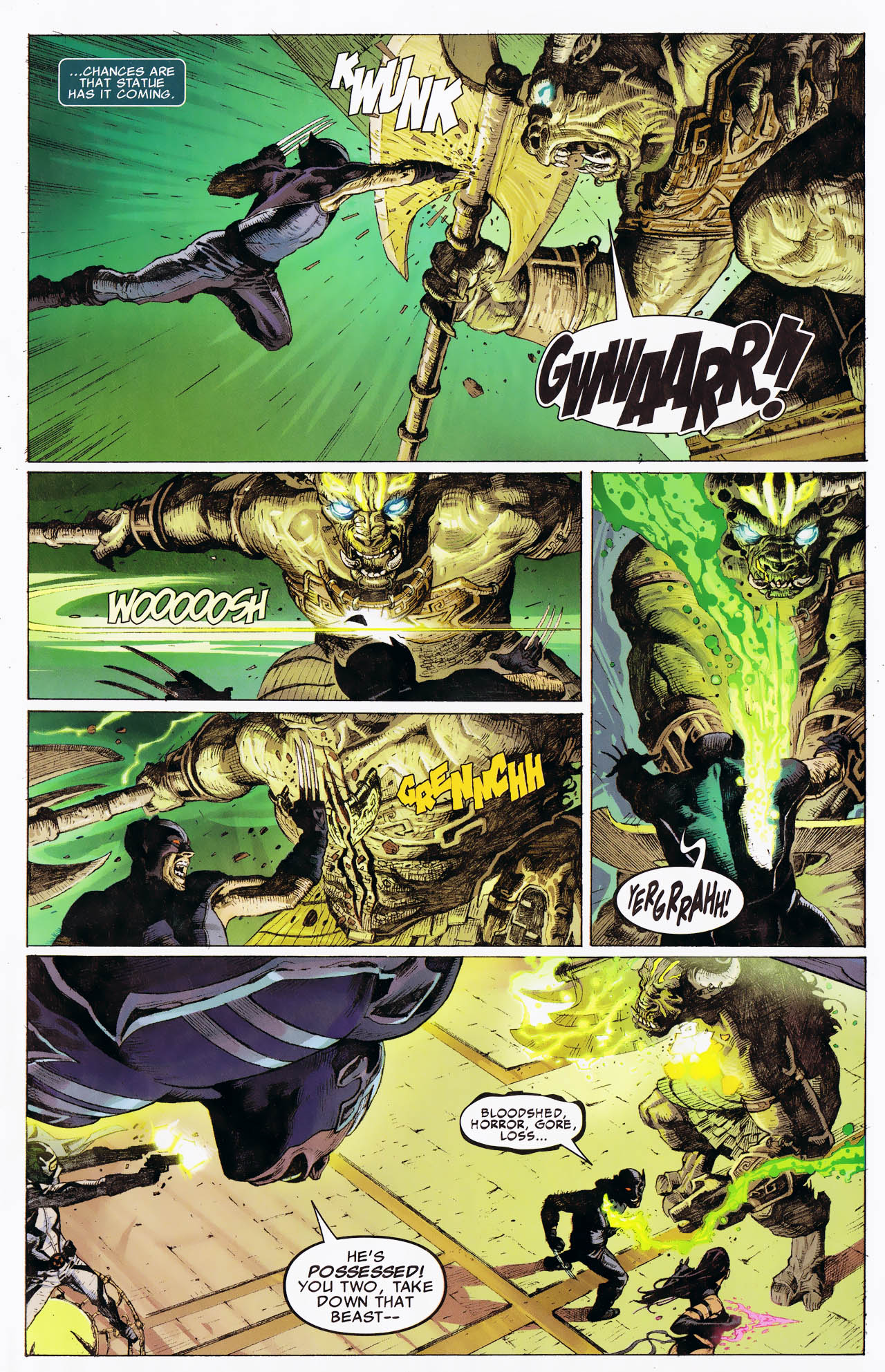 Read online Uncanny X-Force: The Apocalypse Solution comic -  Issue # Full - 19