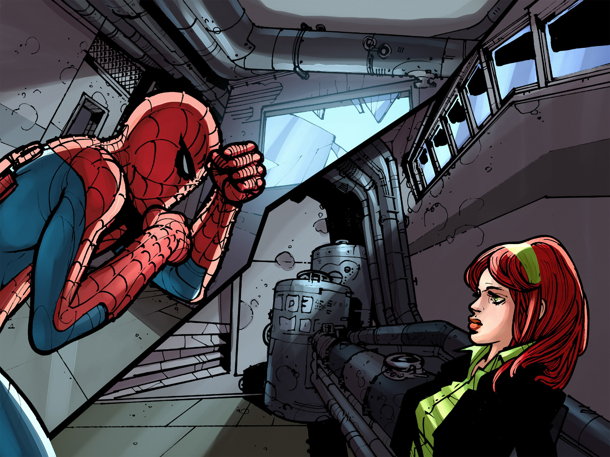 Read online Amazing Spider-Man: Who Am I? comic -  Issue # Full (Part 2) - 109