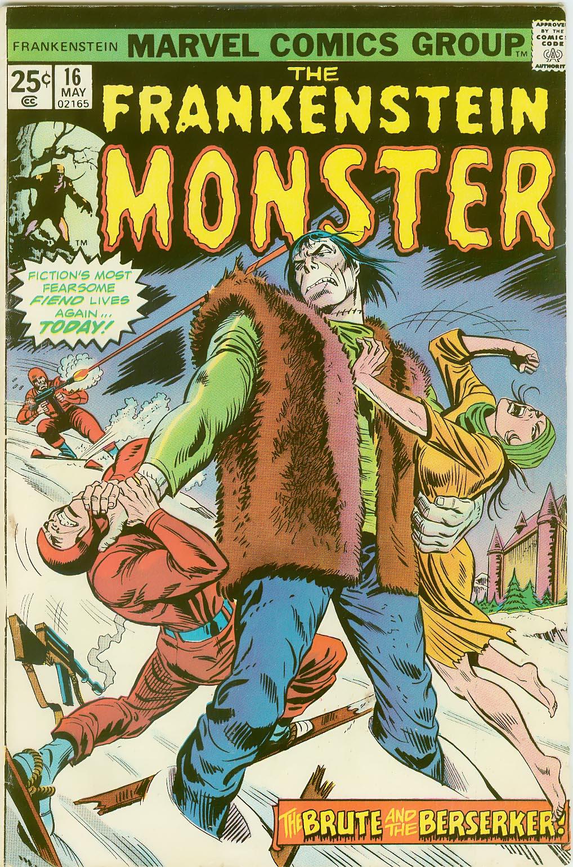 Frankenstein (1973) issue 16 - Page 1