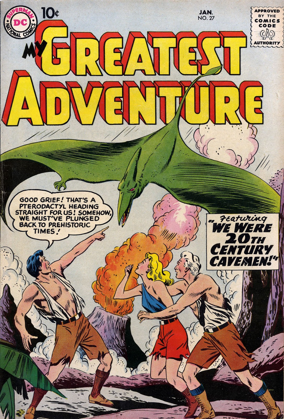 My Greatest Adventure (1955) issue 27 - Page 1