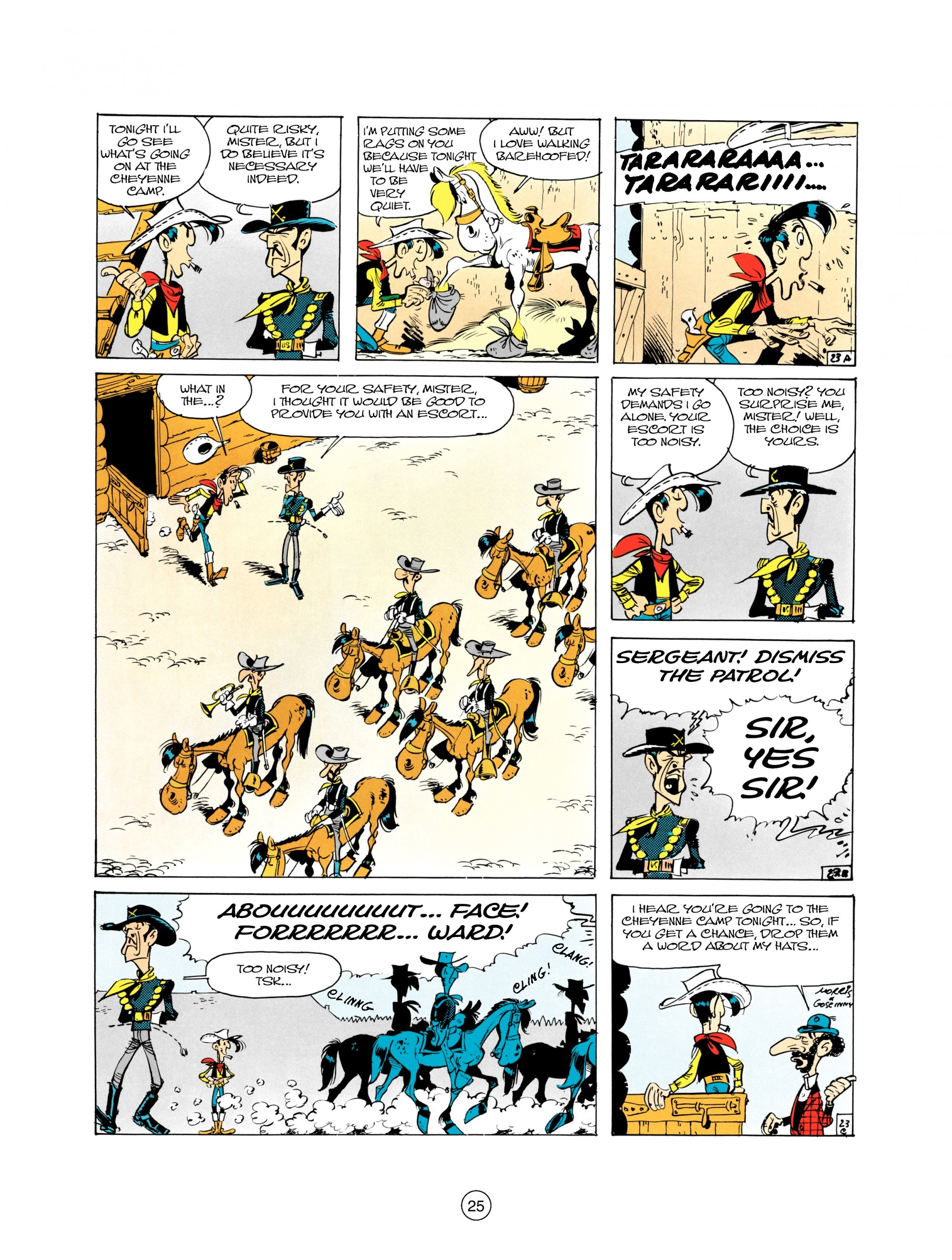 Read online A Lucky Luke Adventure comic -  Issue #21 - 25