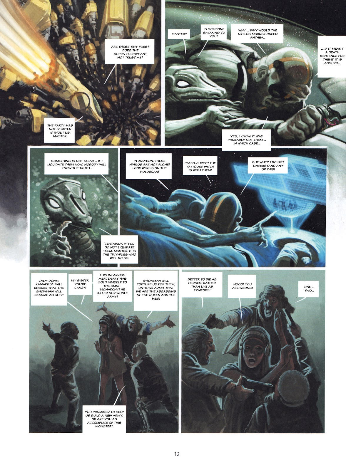Showman Killer issue 2 - Page 12