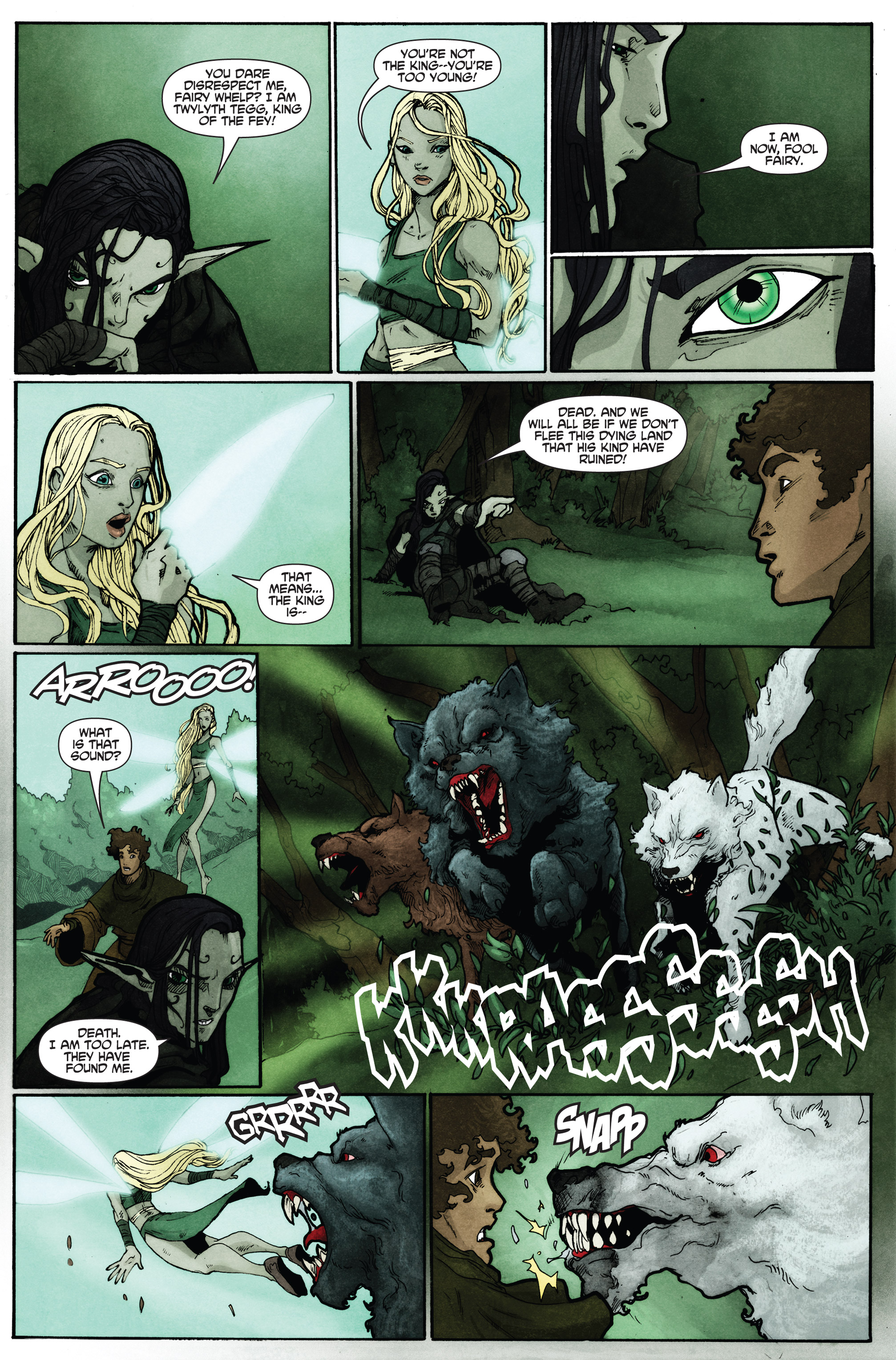 Read online Plague comic -  Issue #2 - 12