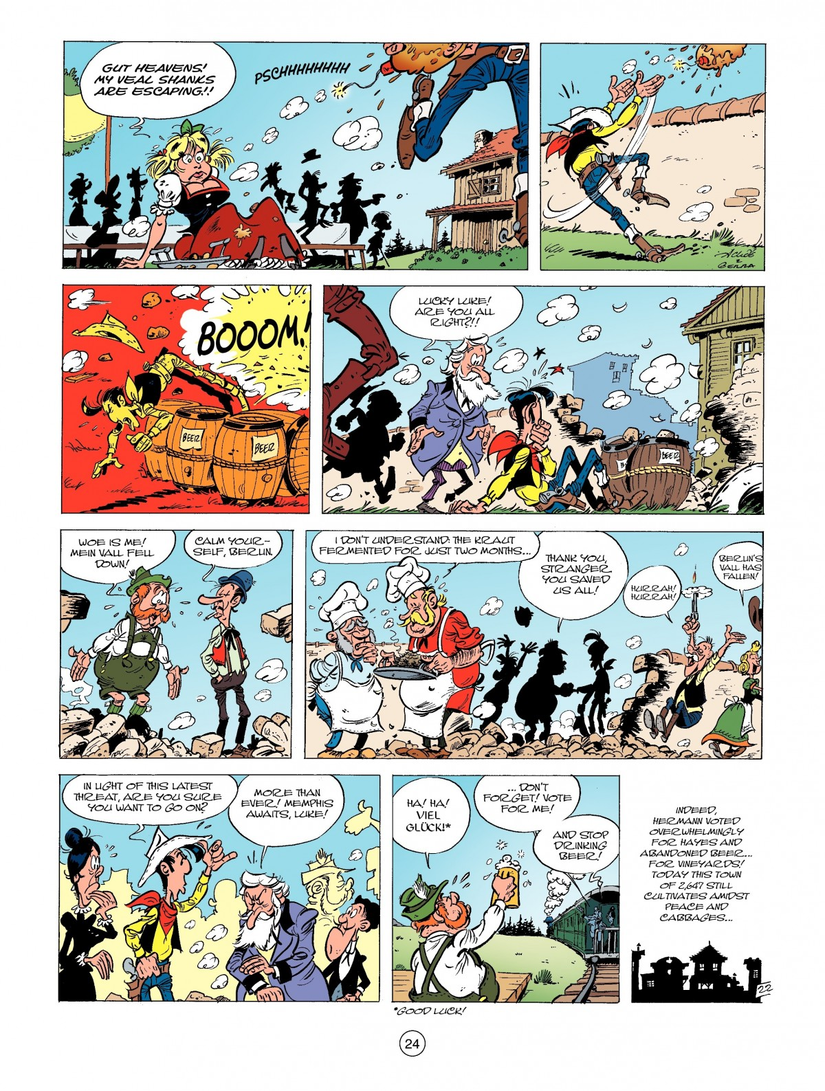 Read online A Lucky Luke Adventure comic -  Issue #39 - 24