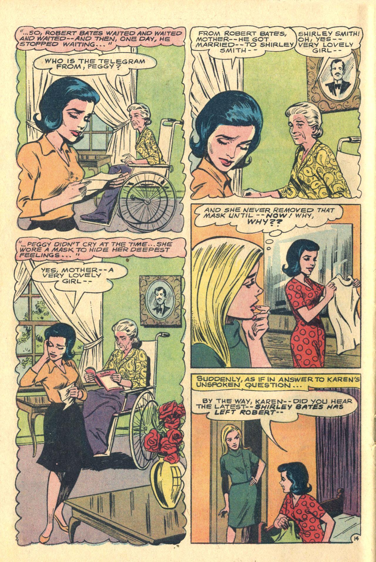 Read online Secret Hearts comic -  Issue #116 - 32