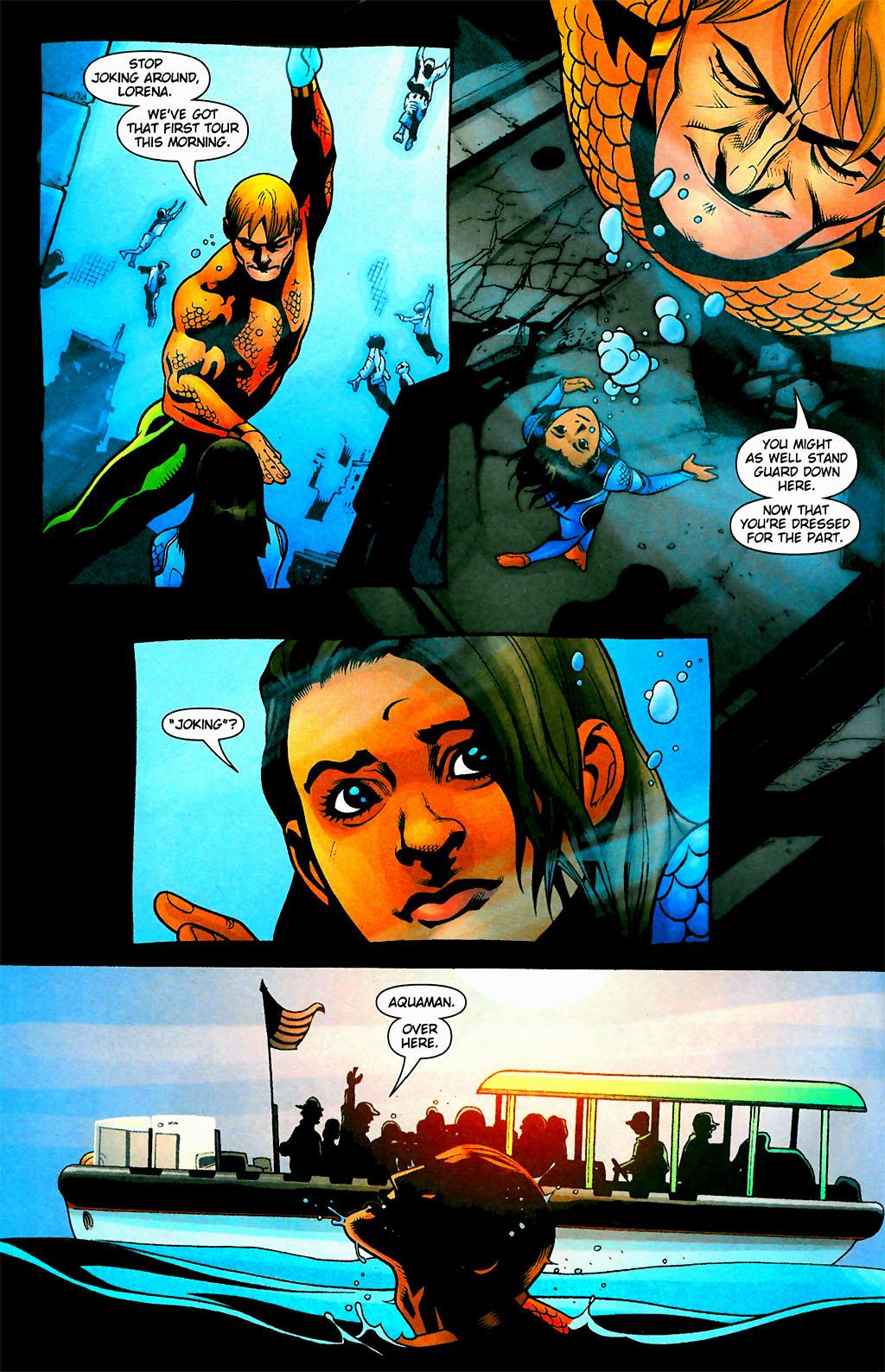 Read online Aquaman (2003) comic -  Issue #28 - 5