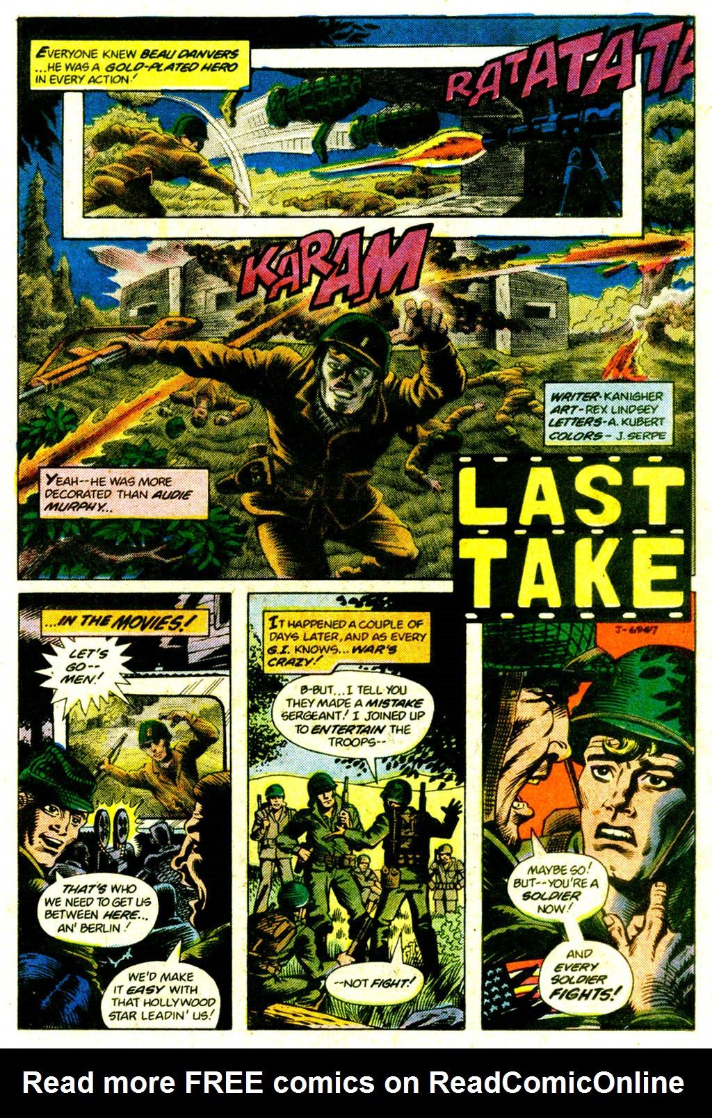 Read online Sgt. Rock comic -  Issue #375 - 18