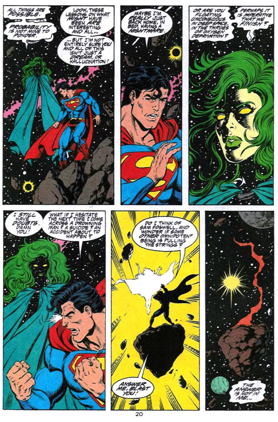 Read online Adventures of Superman (1987) comic -  Issue #494 - 21