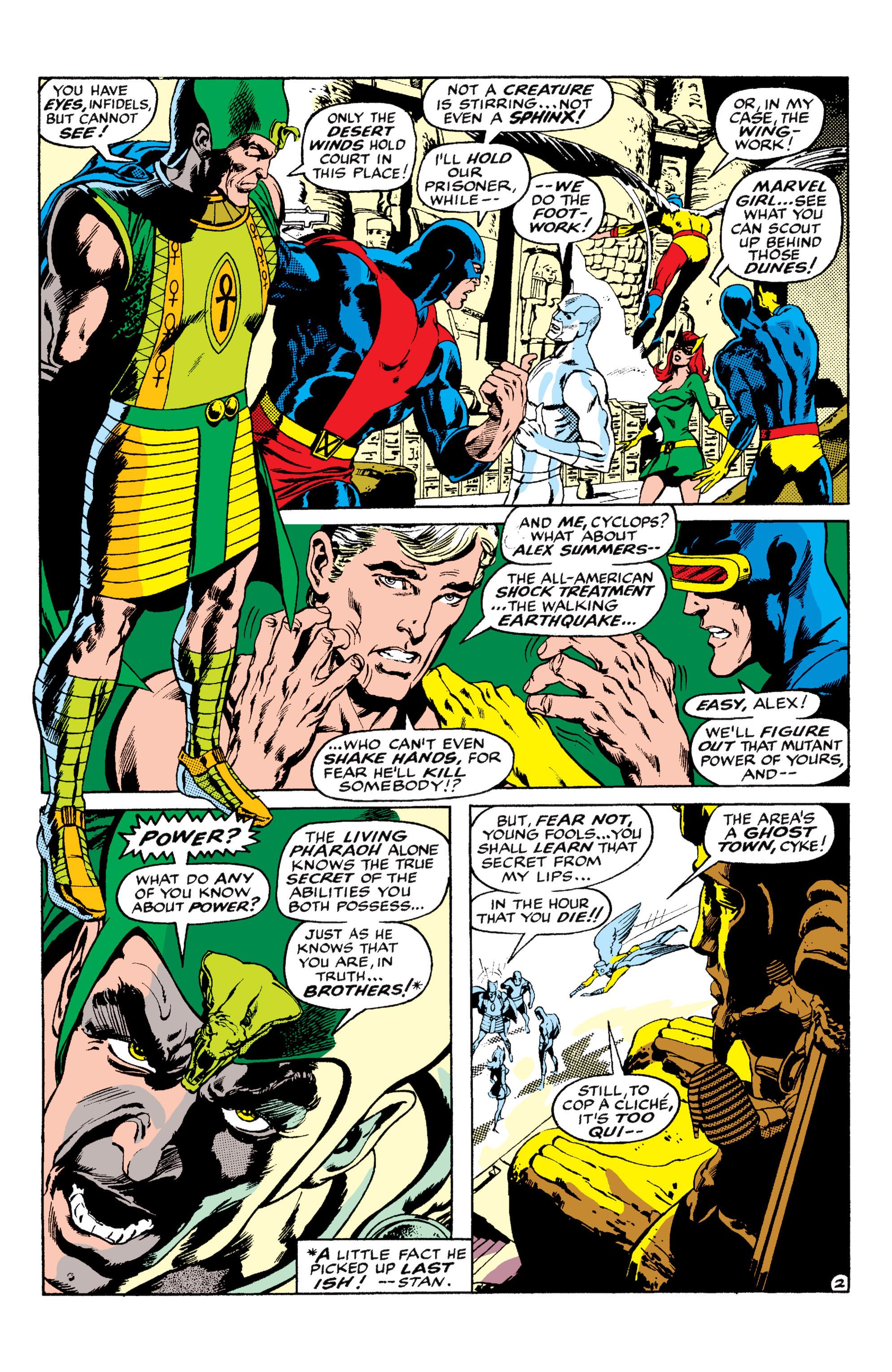 Uncanny X-Men (1963) 56 Page 2