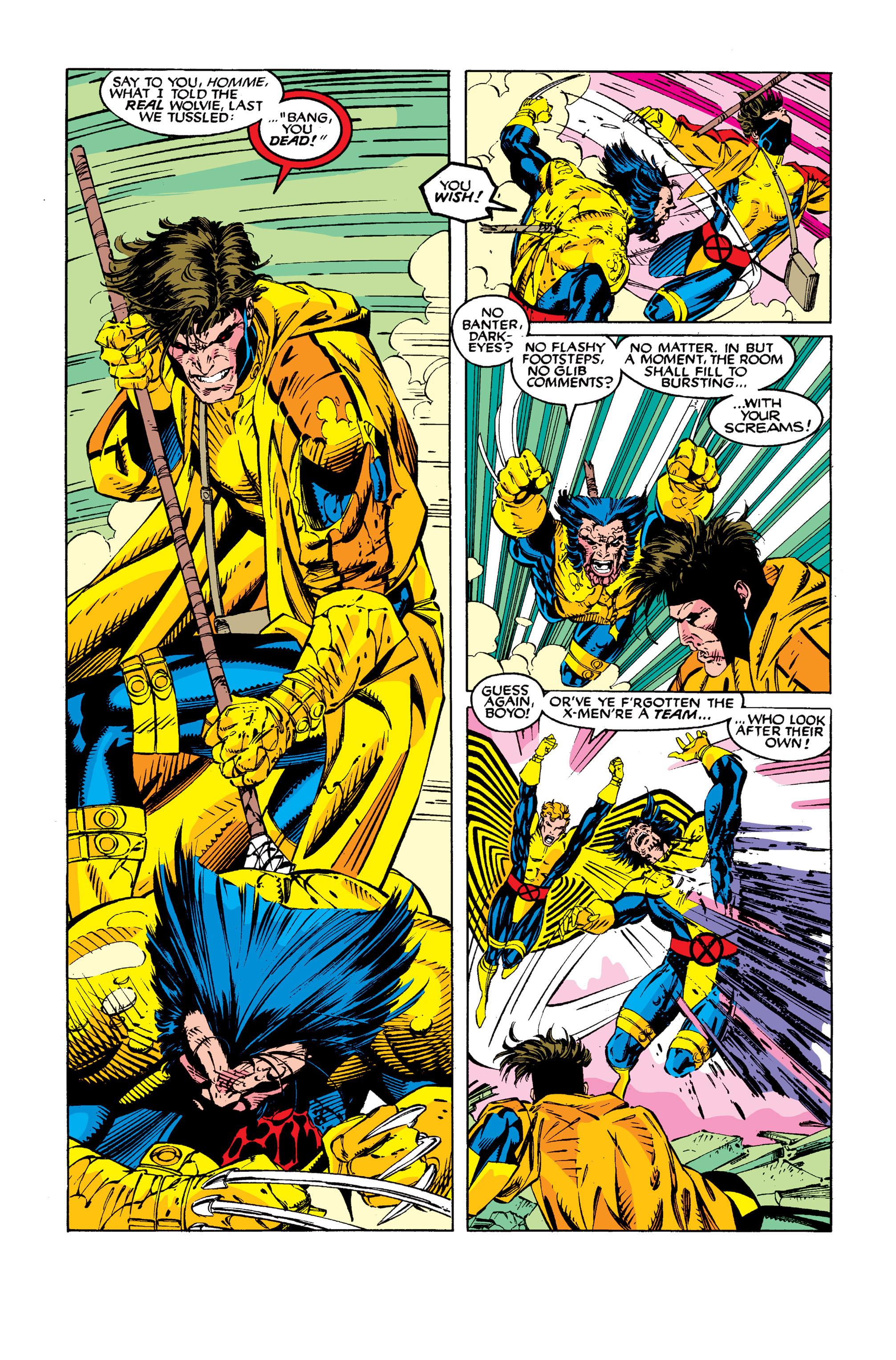 Read online Uncanny X-Men (1963) comic -  Issue #277 - 18